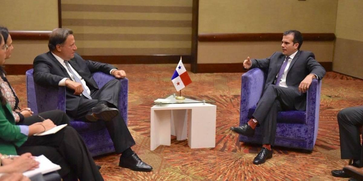 Rosselló Nevares sostiene reunión con líderes políticos durante visita a Colombia