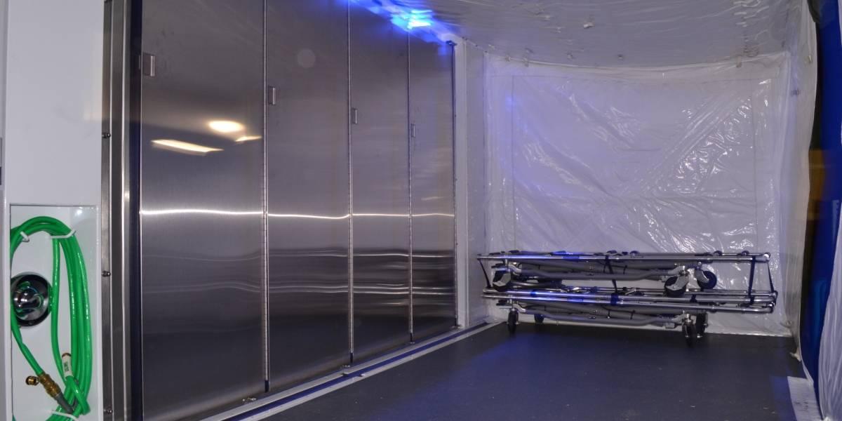 Este es el equipo que usarán los soldados para manejar cadáveres de Forense