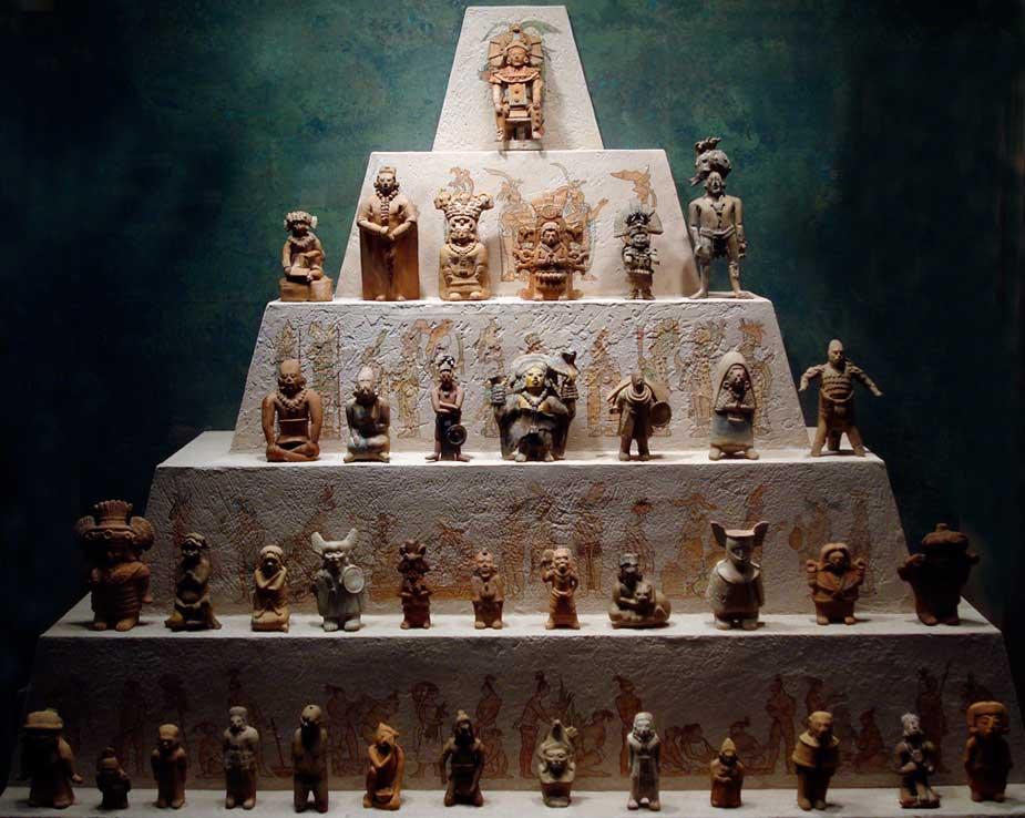 la jerarquía maya colapsó