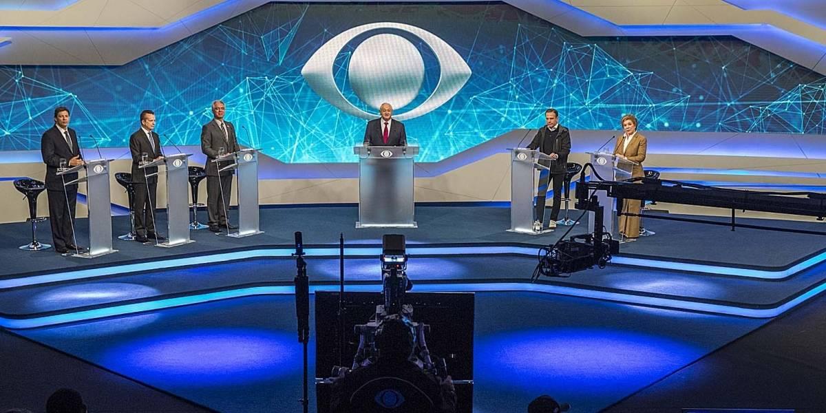 Band realiza sorteios do primeiro debate dos presidenciáveis