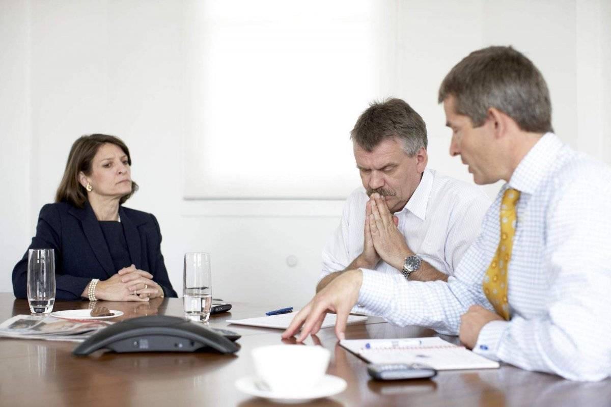 reunión trabajo
