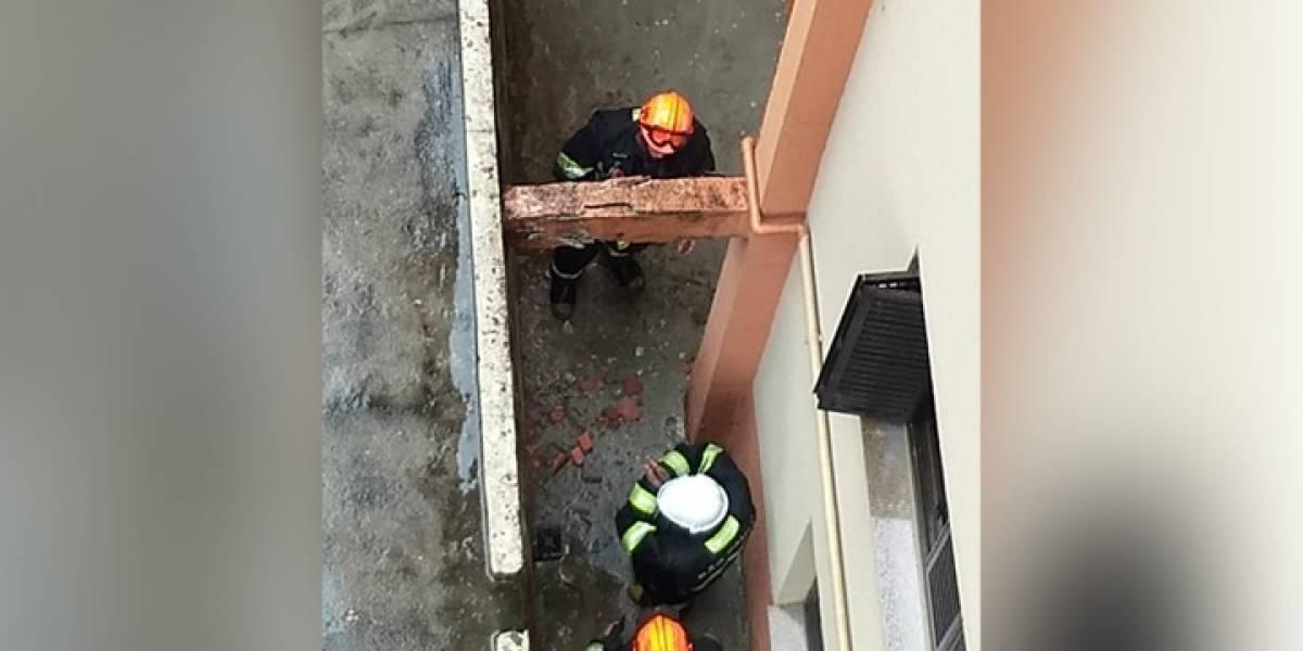 Defesa Civil descarta risco de desabamento em prédio na Vila Mariana
