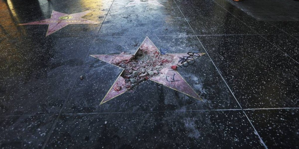 Concejo de West Hollywood pide retirar estrella de Trump