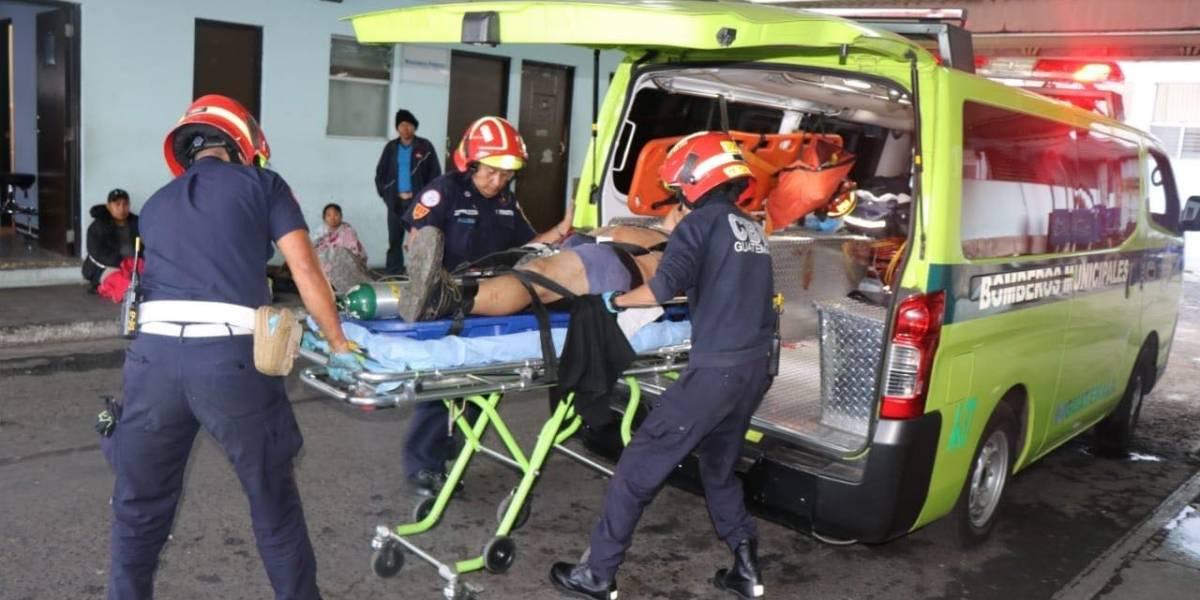 Cuatro heridos en tiroteo de la zona 5 salen del hospital