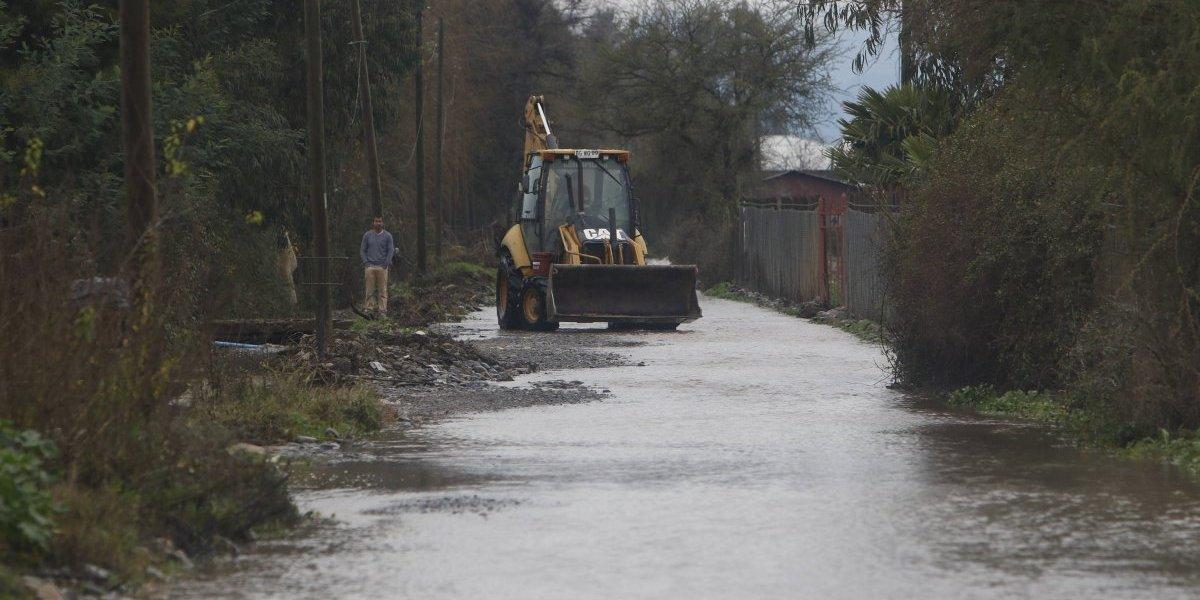 Lluvias amainan en Biobío y La Araucanía, pero siguen en Los Ríos y Los Lagos