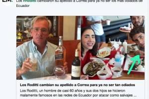 Páginas de humor también se manifestaron sobre la agresión a los guardias de seguridad y publicaron fotografías de la familia involucrada