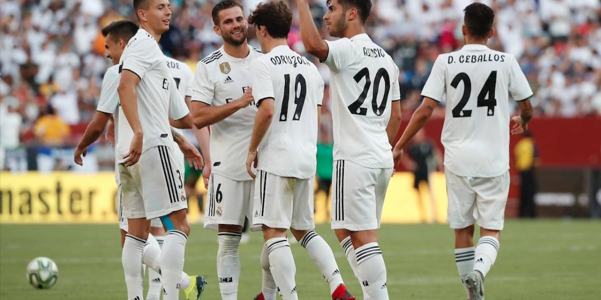Real Madrid termina pretemporada contra la AS Roma