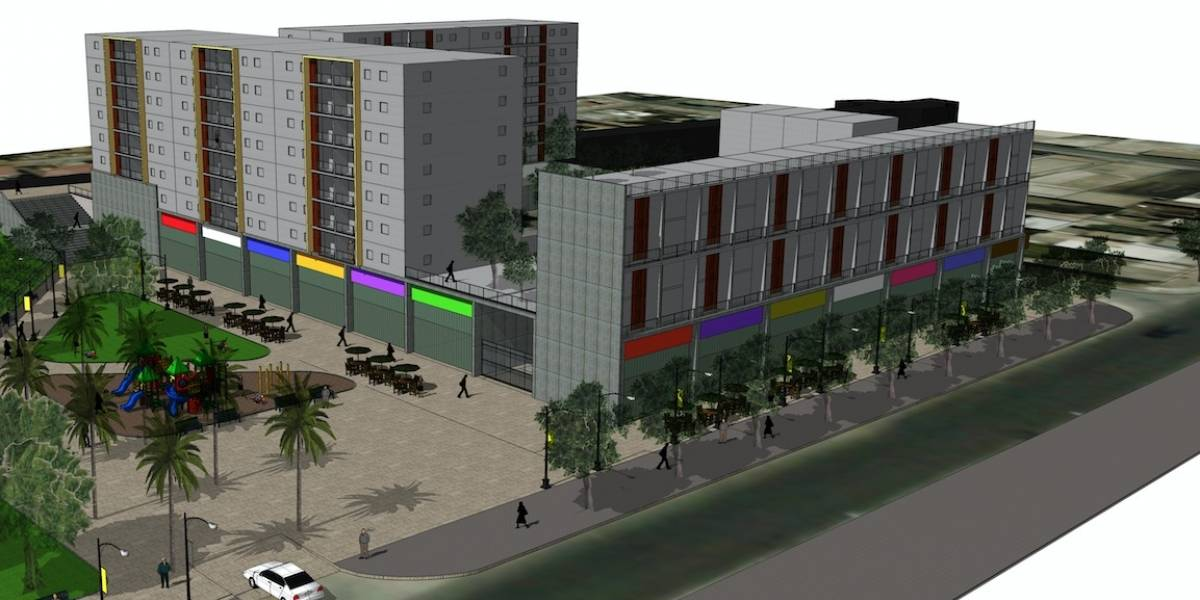 """Edificio social anti-tsunami al """"estilo Lavín"""" se instalará en Coquimbo"""