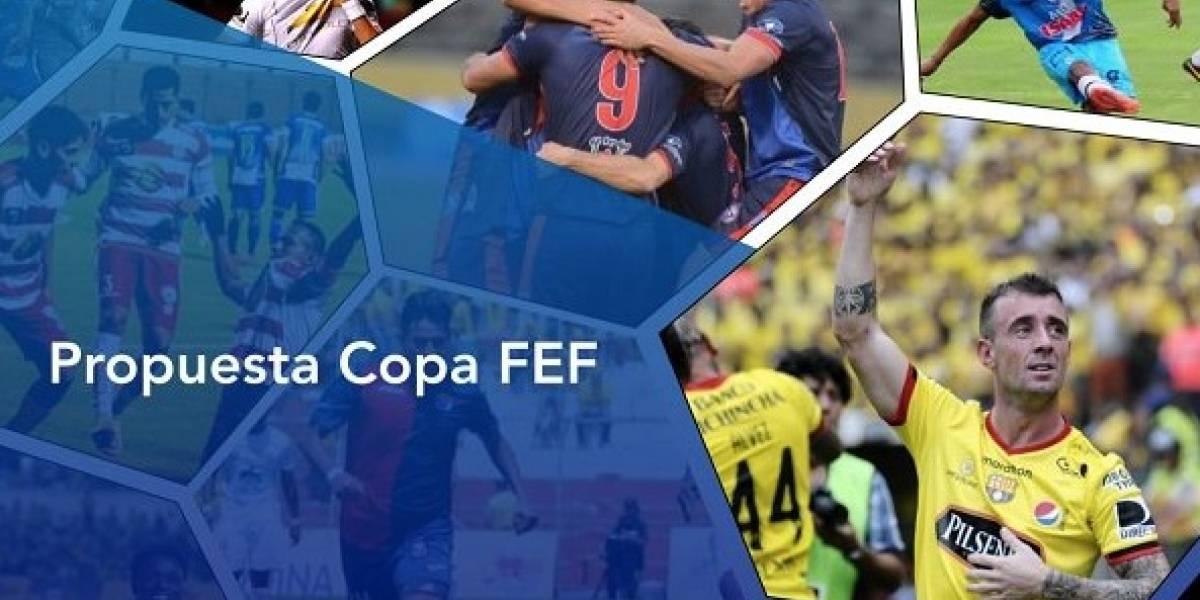 FEF presentó su propuesta para la Copa Ecuador: Se plantea un torneo con 50 equipos