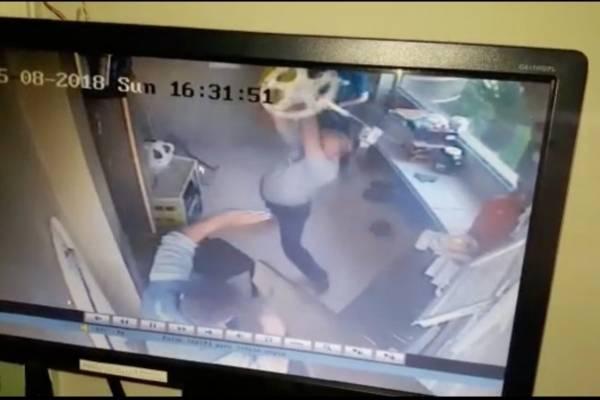 Familia guayaquileña explica brutal pelea con guardias de seguridad