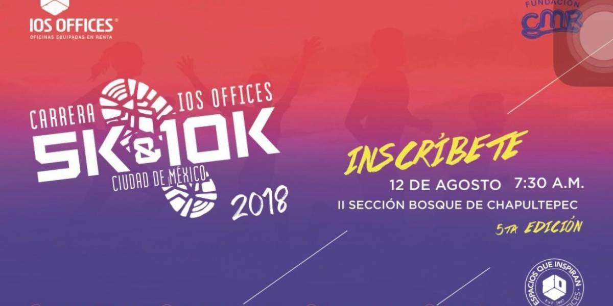 Participa y gana pases para la carrera IOS Offices