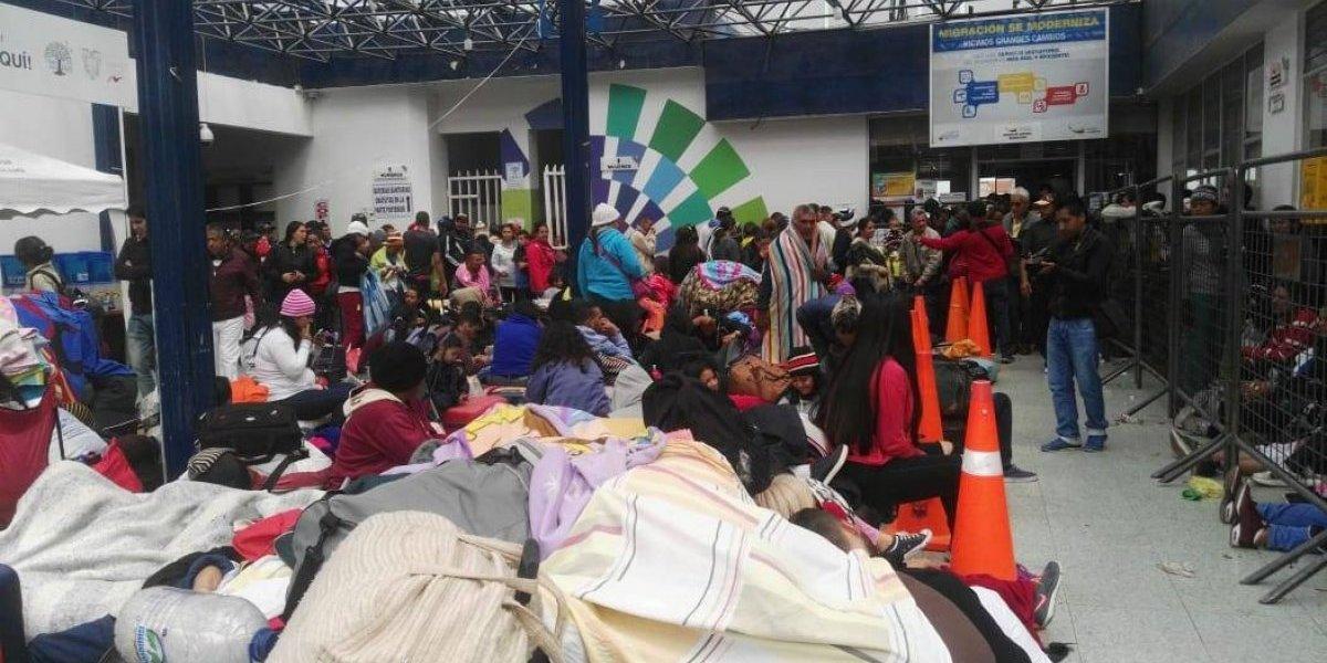 Así es la situación de los venezolanos en la frontera entre Ecuador y Perú
