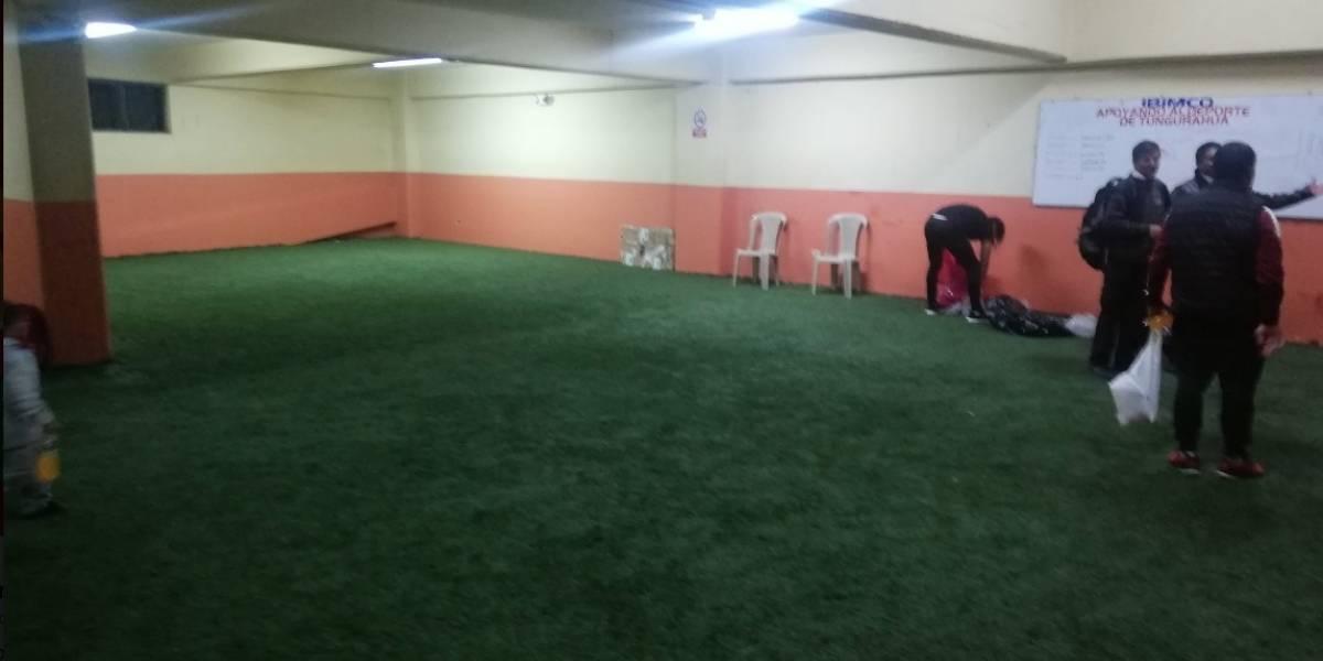 Deportivo Cuenca entregó limpio el camerino del estadio Bellavista