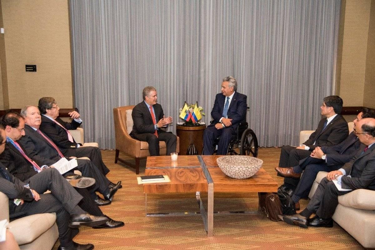 Iván Duque y Lenín Moreno confirman lucha por el narcotráfico en límites de Ecuador y Colombia EFE