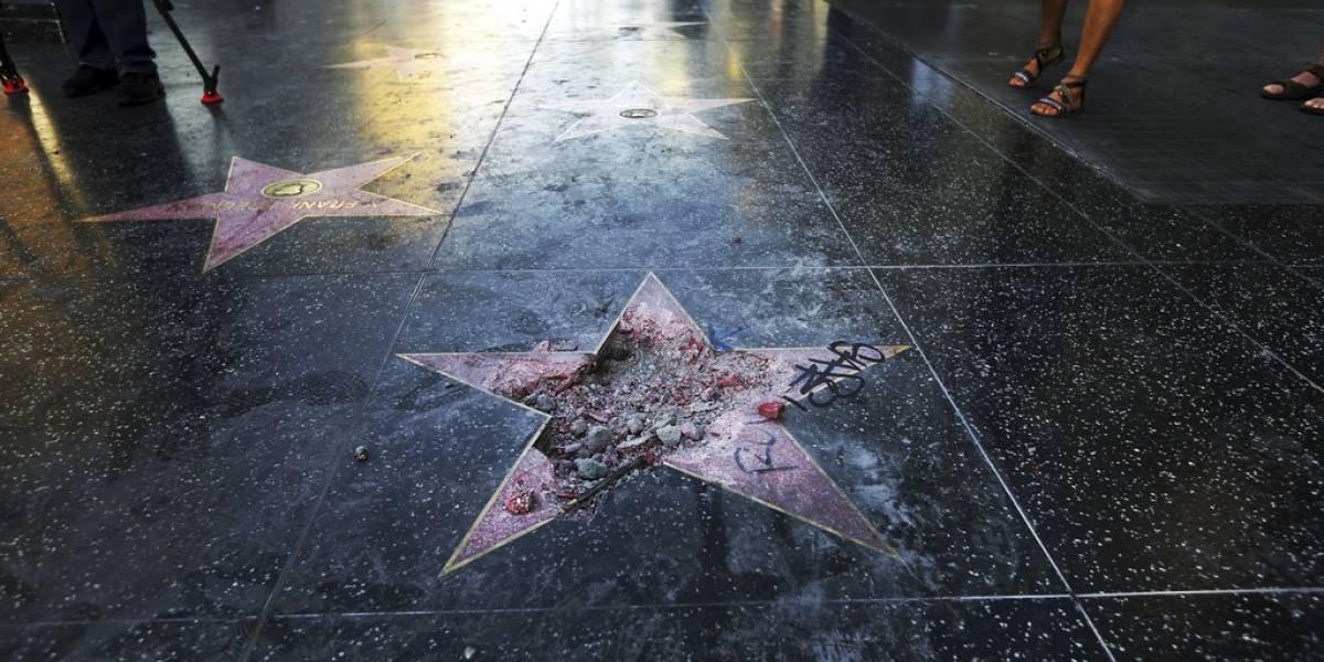 Concejo de West Hollywood pide retirar estrella de Trump de Paseo de la Fama