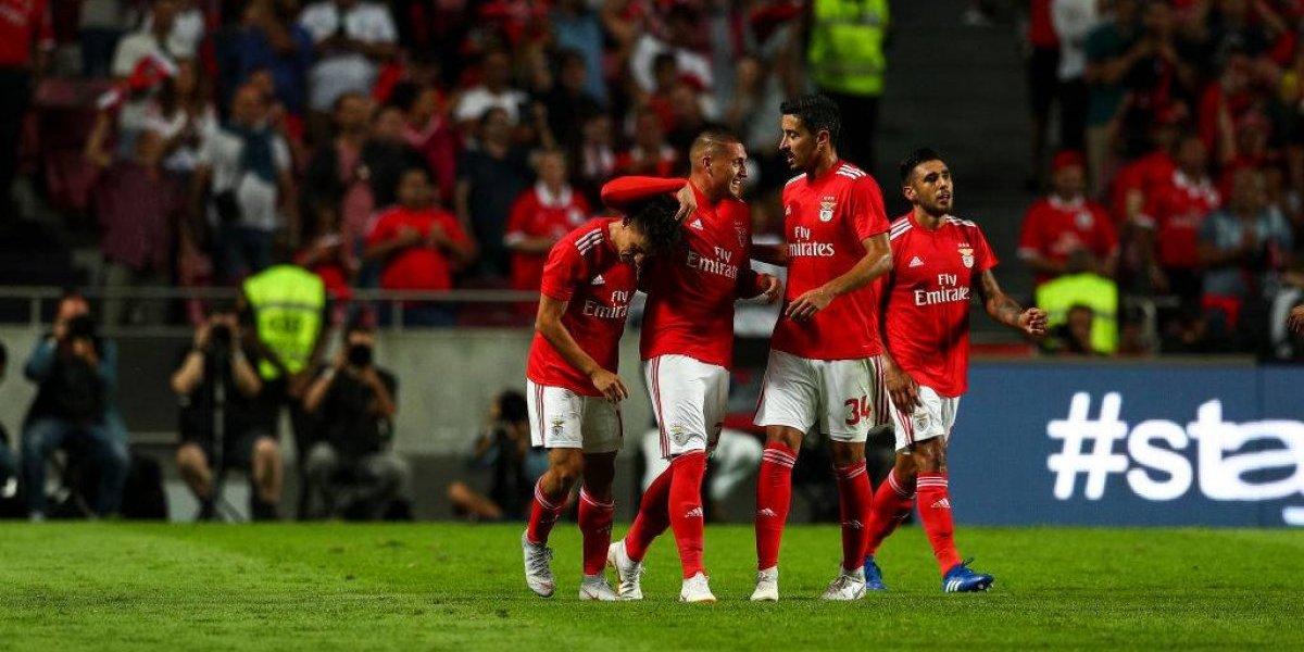 El Benfica de Nicolás Castillo le pegó al Fenerbahce de Mauricio Isla en la Champions League