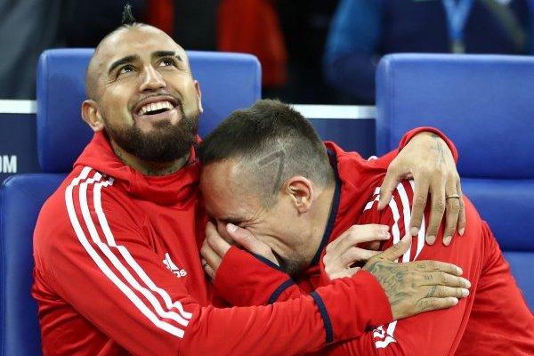 El Rey se separa de Ribery / imagen: Getty Images