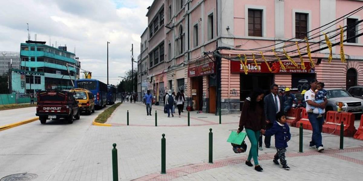 Metro de Quito: Av. Gran Colombia se habilita al tránsito vehicular