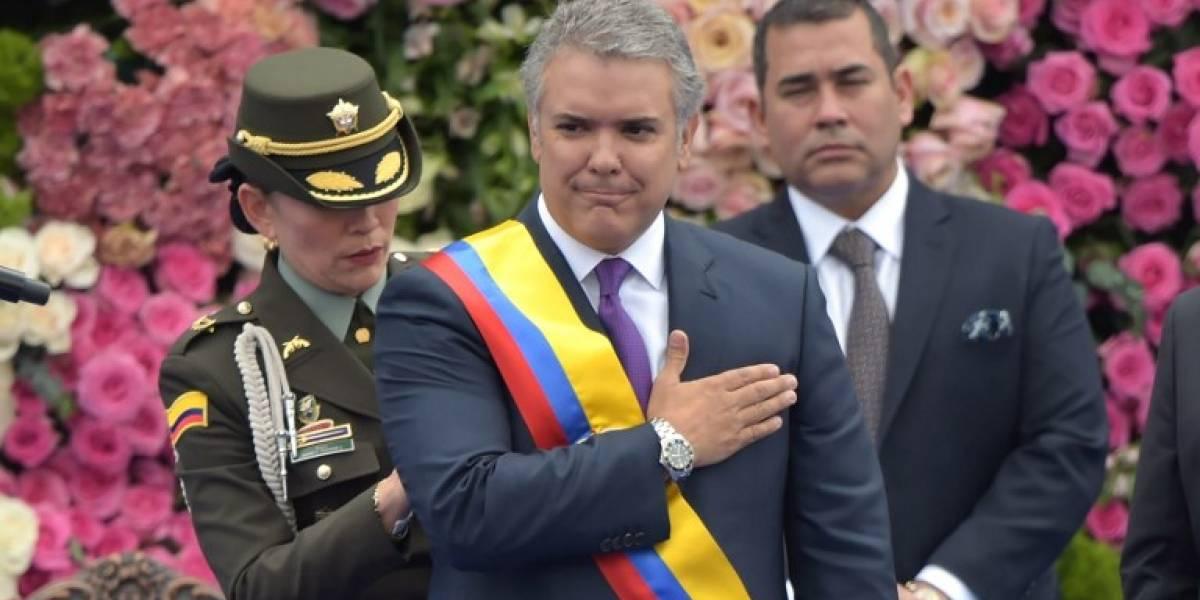 EN IMÁGENES. Iván Duque asume la Presidencia de Colombia