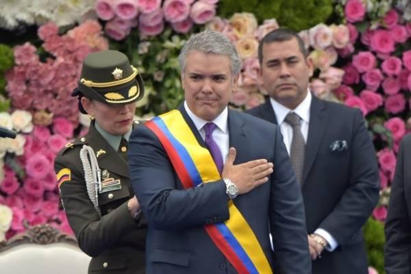 Iván Duque asume la Presidencia de Colombia