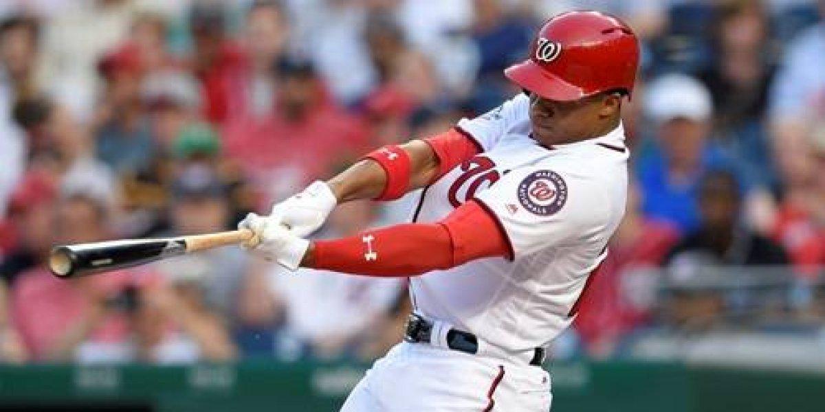 Juan Soto continúa mostrando su calidad con el bate en Grandes Ligas