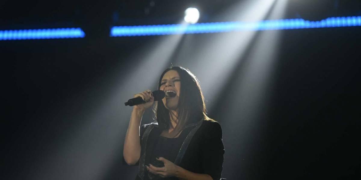 EN IMÁGENES. Así fue el emotivo concierto de Laura Pausini en Guatemala