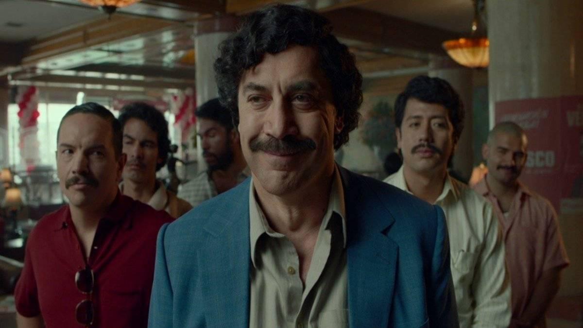 Javier Bardem como Escobar.