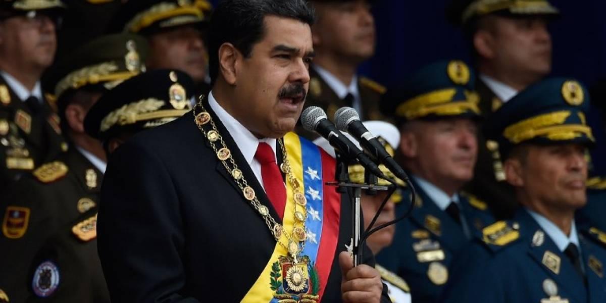 """VIDEO. Maduro promete presentar pruebas que vinculan a Santos con """"atentado"""" en su contra"""
