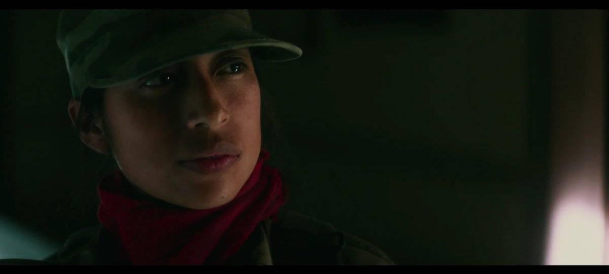 """La guatemalteca María Mercedes Coroy interpreta a Carmen en el filme """"Bel Canto"""". Foto: Screen Media Films"""