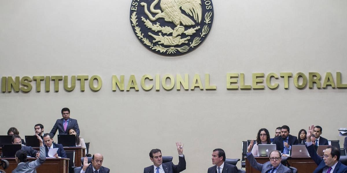 INE multa por 872.6 mdp a partidos por irregularidades en gastos