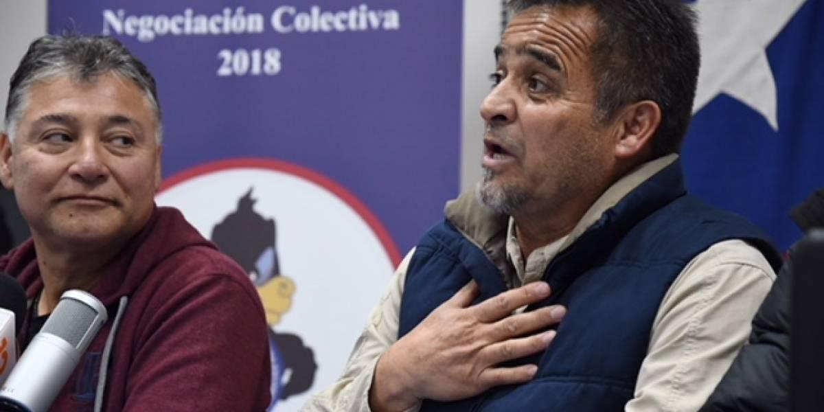 """Presidente de sindicato de Escondida pide disculpas por """"mandar el país a la chu..."""""""