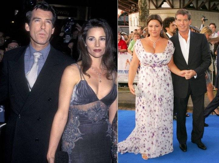 Pierce Brosnan y Keely Shaye Smith