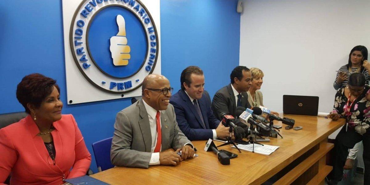 El PRM anuncia que votará hoy a favor de Ley de Partidos