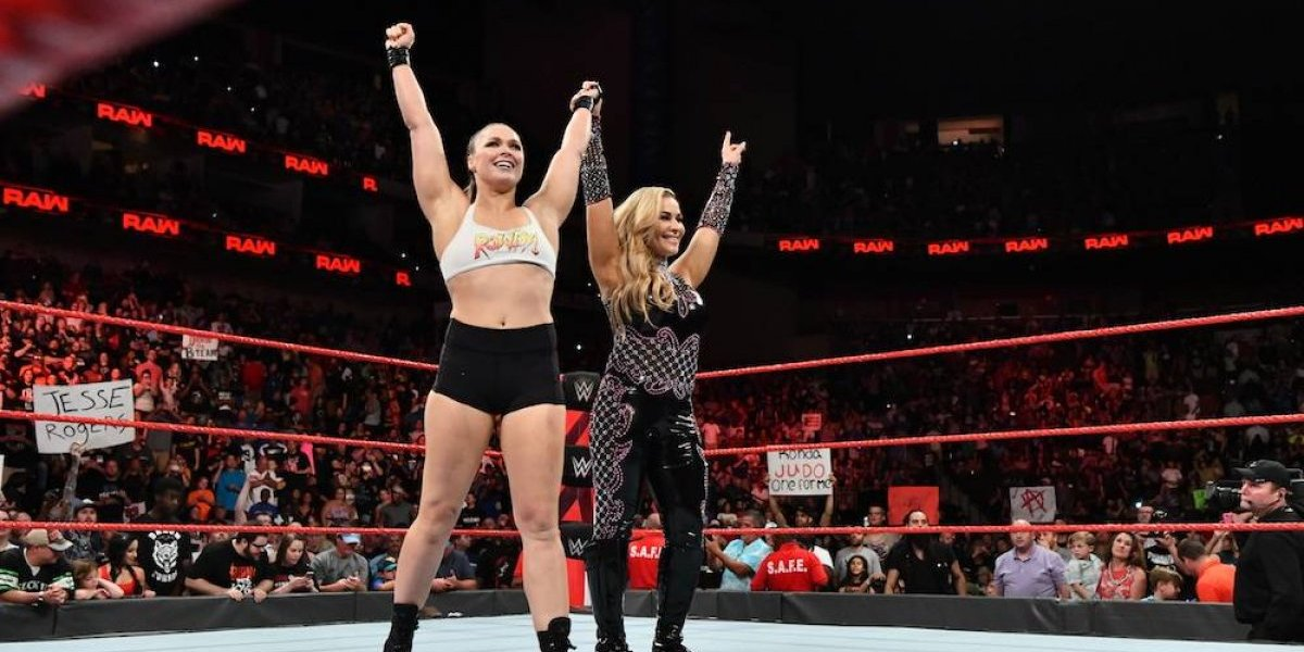 Ronda Rousey consigue su primera victoria en RAW