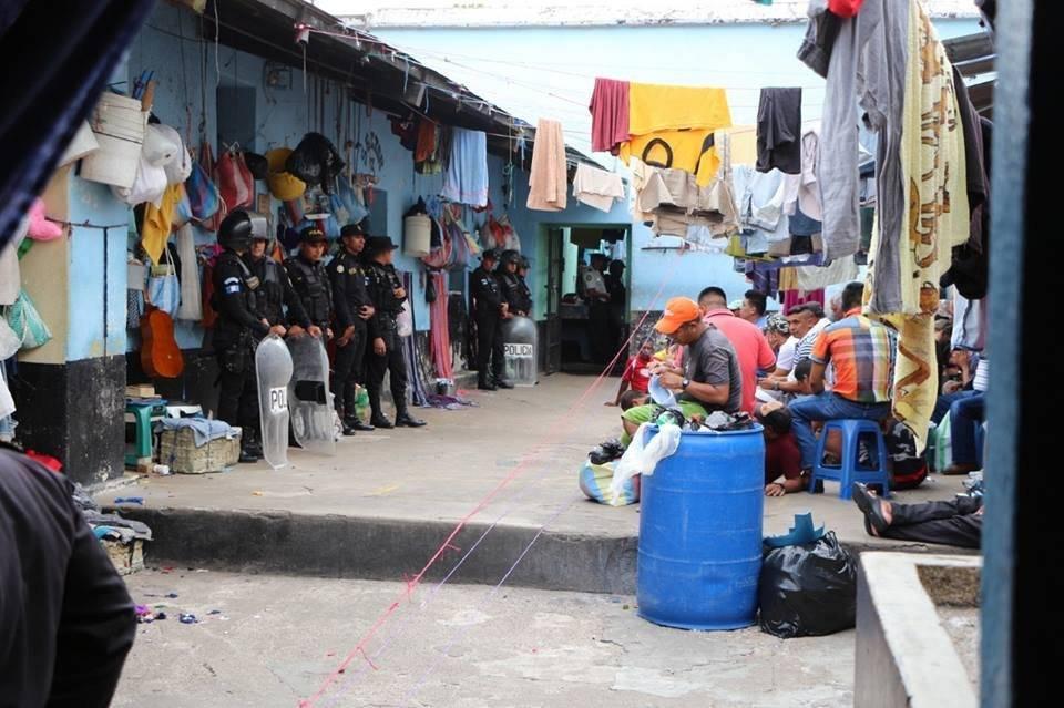 requisa en cárcel de Jalapa
