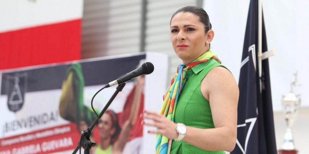 Ana Gabriela Guevara dirigirá la Conade; será la primera mujer en hacerlo