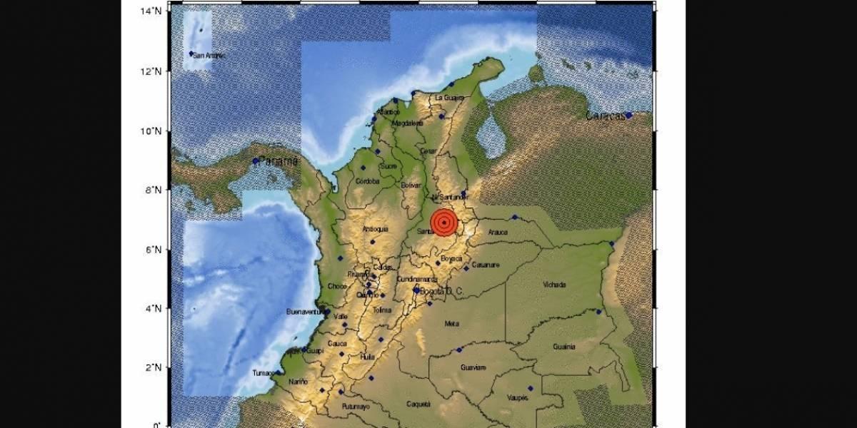 Colombia registra sismo de 5.8 grados; no se reportan daños