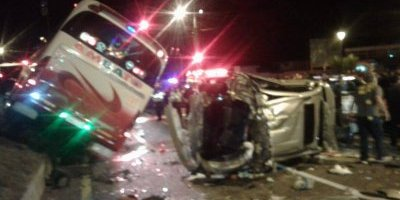 Quito: Se registran seis heridos en accidente de tránsito