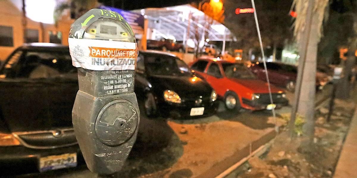 Avanza el retiro de los parquímetros en Guadalajara