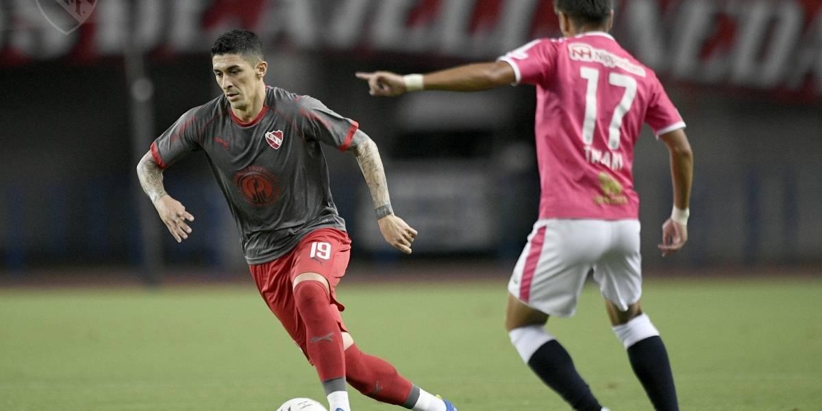 Los chilenos se hacen notar: Independiente ganó la Suruga Bank con Hernández y Silva de titulares