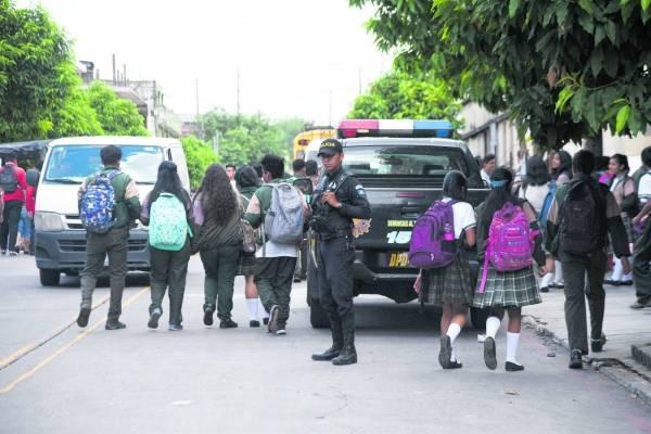 Escuelas seguridad