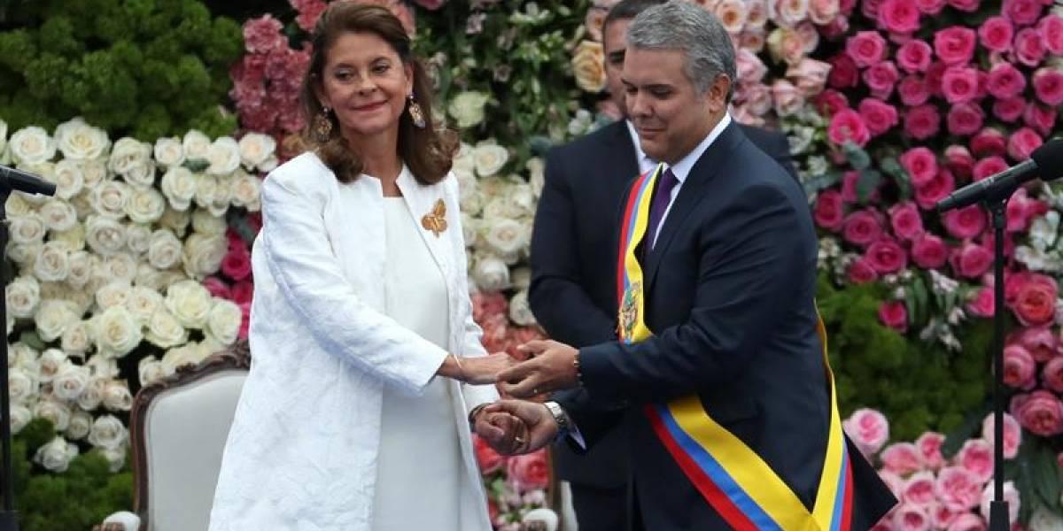 Video: La cara que le hizo Marta Lucía Ramírez a Ernesto Macías tras su discurso