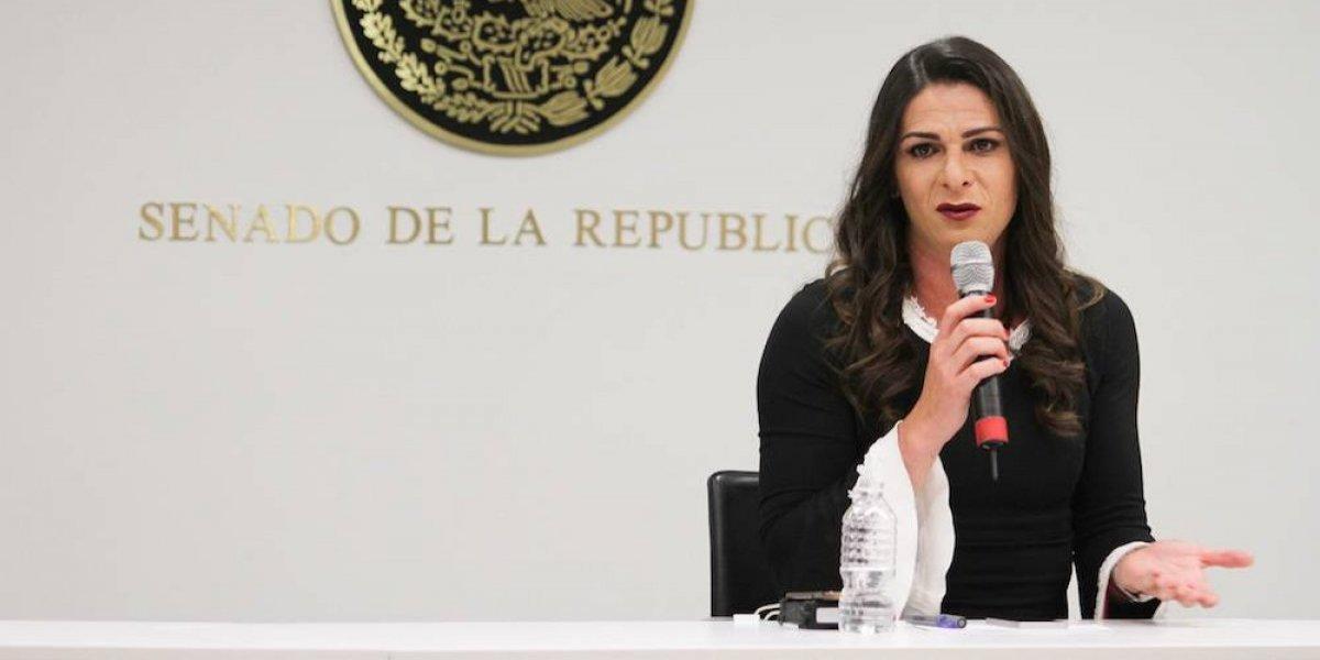 Ana Gabriela Guevara, orgullosa de 'servir al país desde otra posición'
