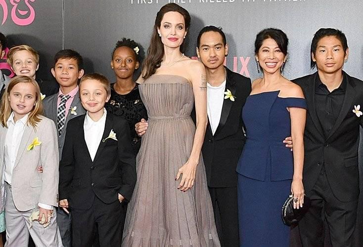 Angelina Jolie dice que Brad Pitt no paga la pensión alimenticia de sus hijos Getty Images
