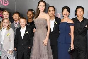 Angelina Jolie dice que Brad Pitt no paga la pensión alimenticia de sus hijos