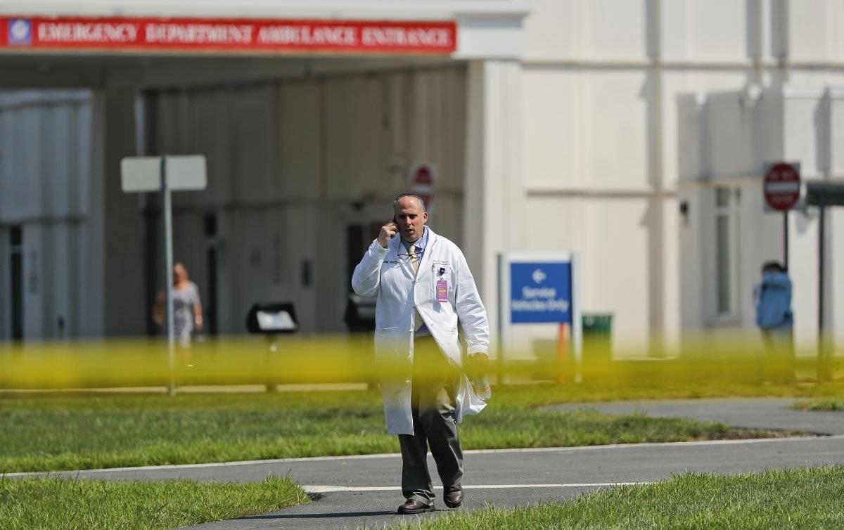 tiroteo hospital de Nueva York