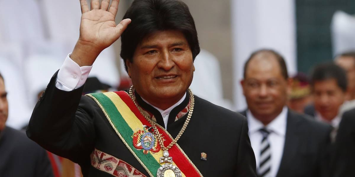 "Recuperan banda presidencial de Evo Morales, robada en ""zona roja"""