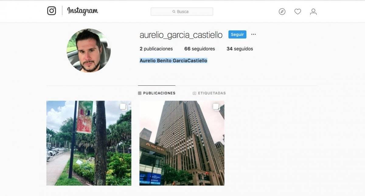 Aurelio Instagram
