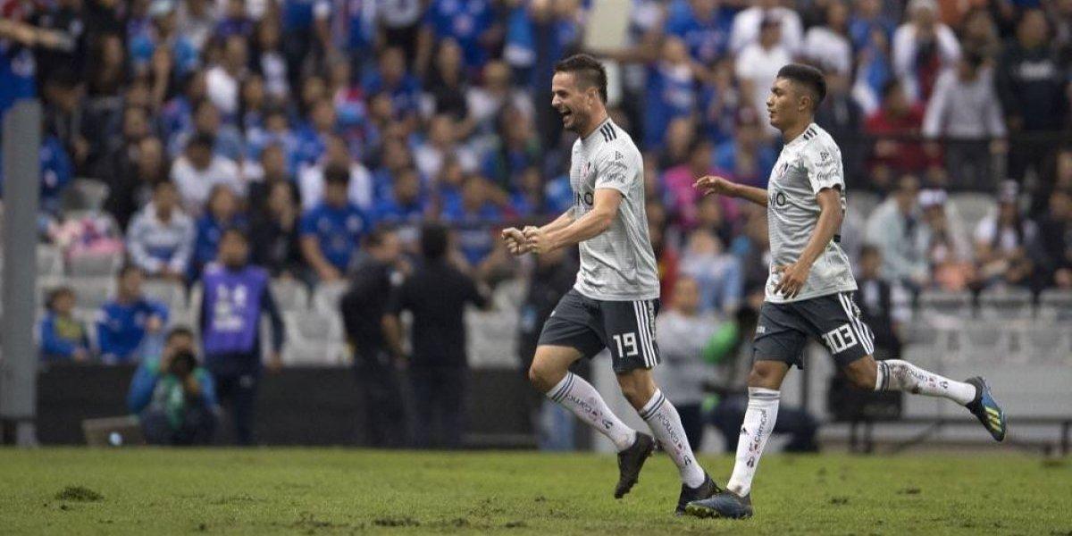 Cruz Azul deja escapar ventaja ante Atlas y empatan 2-2