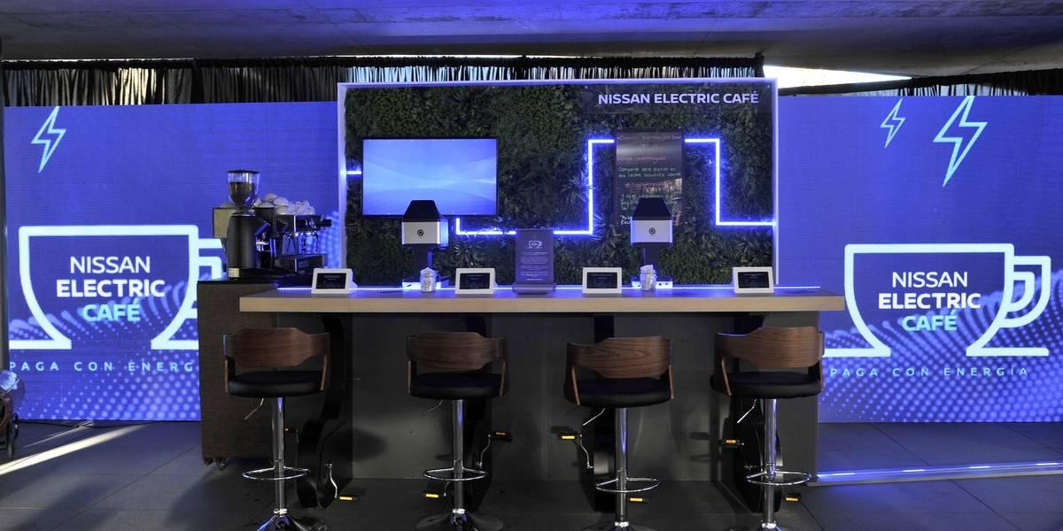 Nissan Electric Café, por primera vez en América Latina